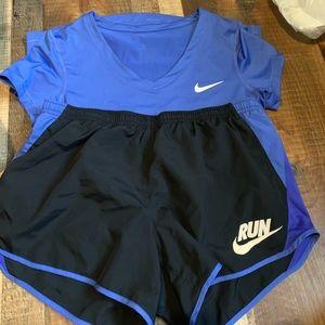Matching Nike workout set